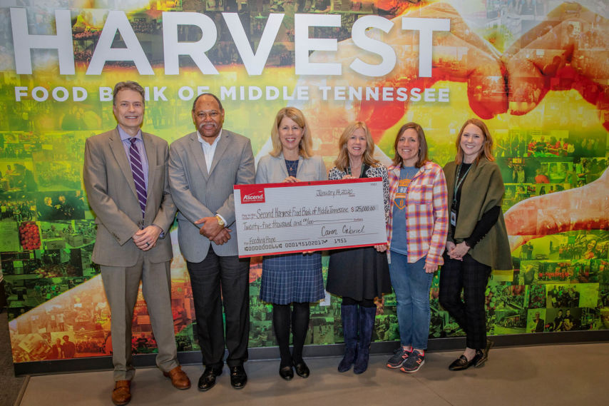 Second Harvest Check Presentation