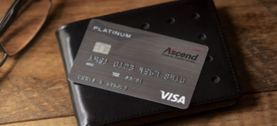 Ascend Platinum Visa Credit Card