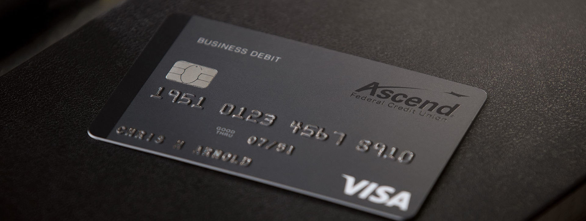 ascend business black debit card
