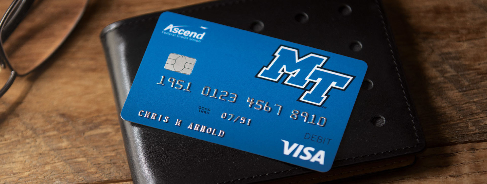 Blue Ascend Debit Card