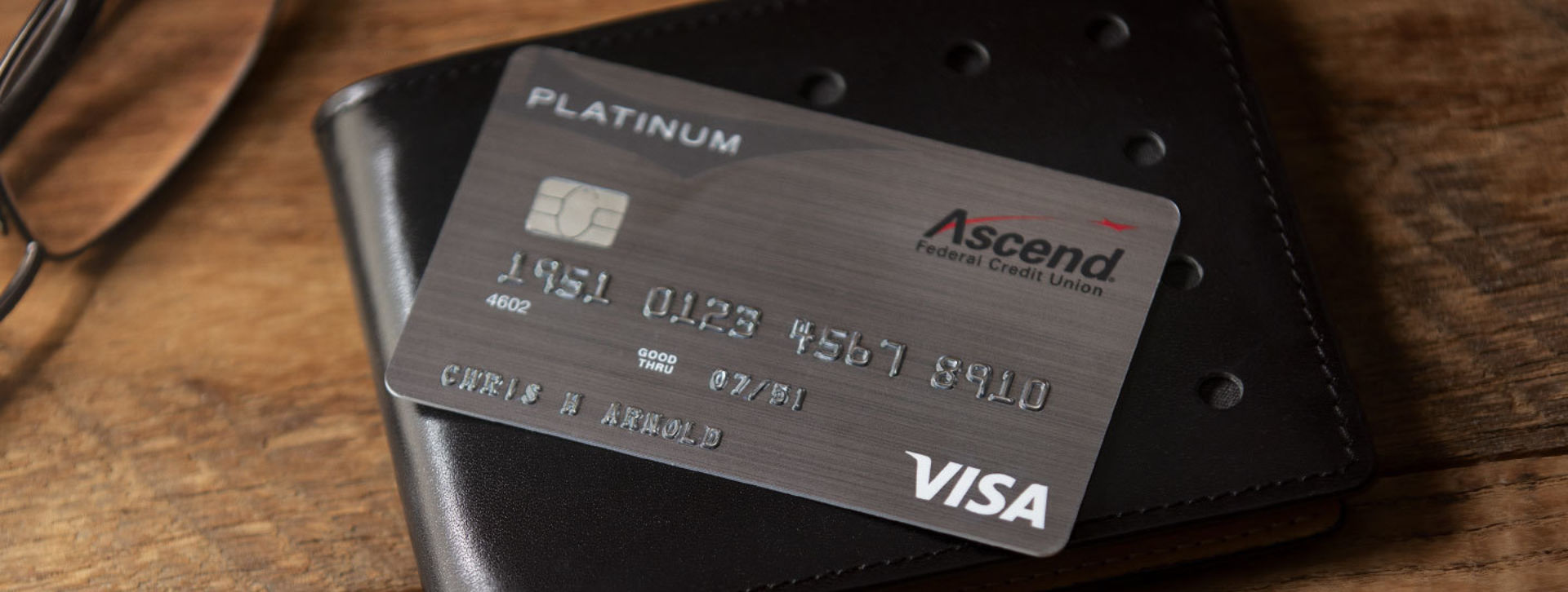 Image of ascend platinum credit card